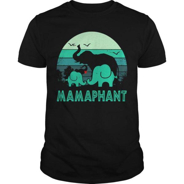 Vintage Elephant Mamaphant Shirt