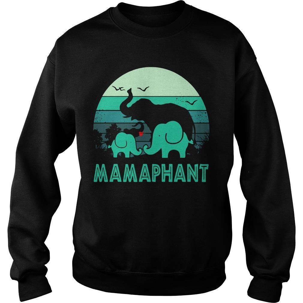 Vintage Elephant Mamaphant Sweater