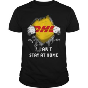 Dhl Inside Me I Can't Stay At Home Shirt