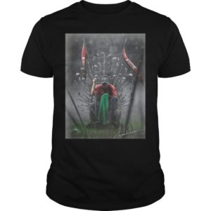 Game Of Thrones Iron Throne Tiger Woods GOAT Shirt