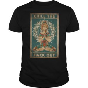 Girl Yoda Chill The Fuck Out Shirt