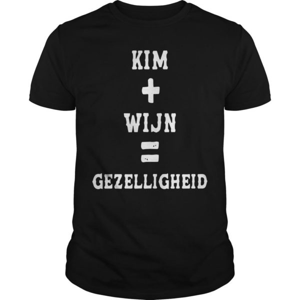 Kim Wijn Gezelligheid Shirt