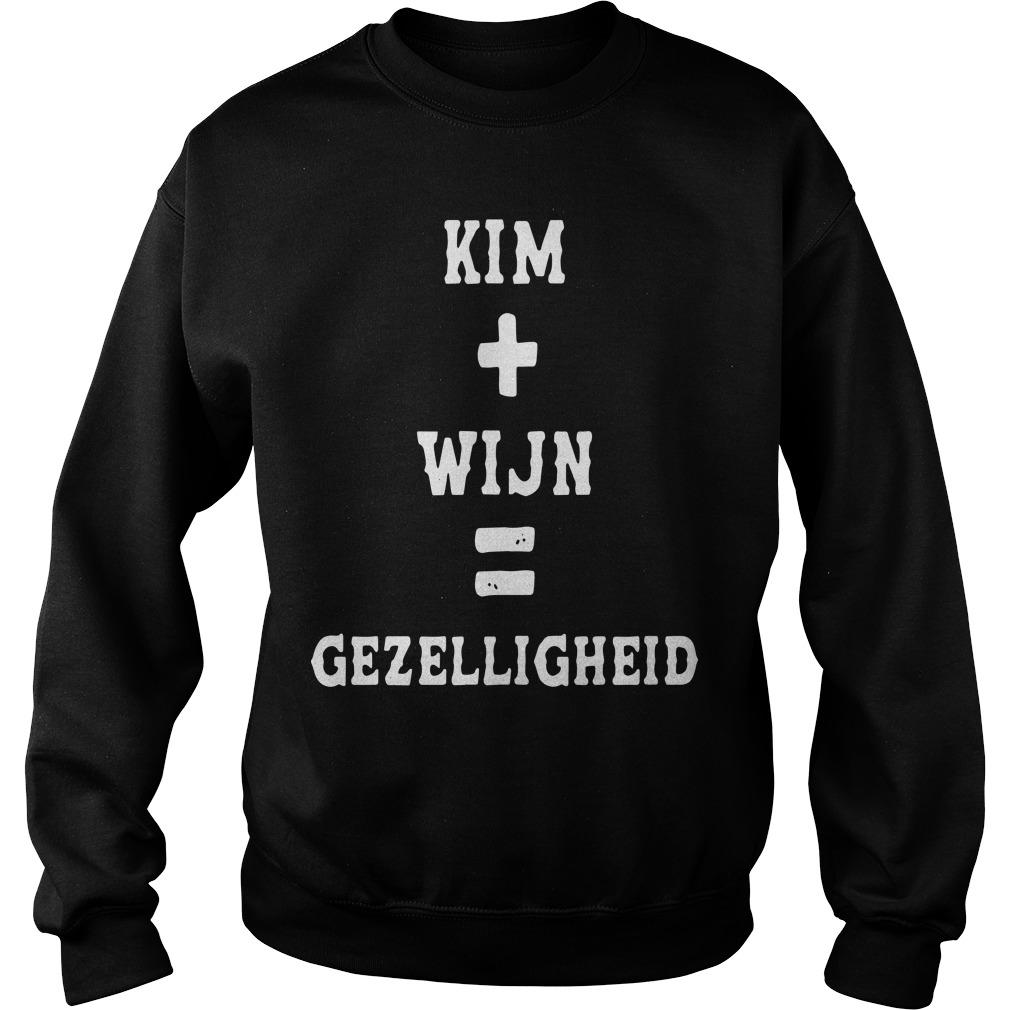 Kim Wijn Gezelligheid Sweater