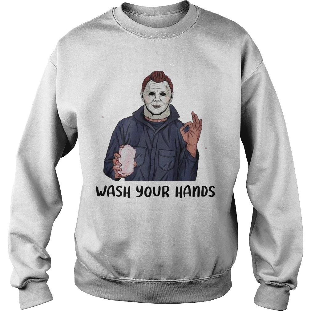 Michael Myers Wash Your Hand Sweater