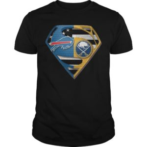 Superman Buffalo Bills And Buffalo Sabres Shirt