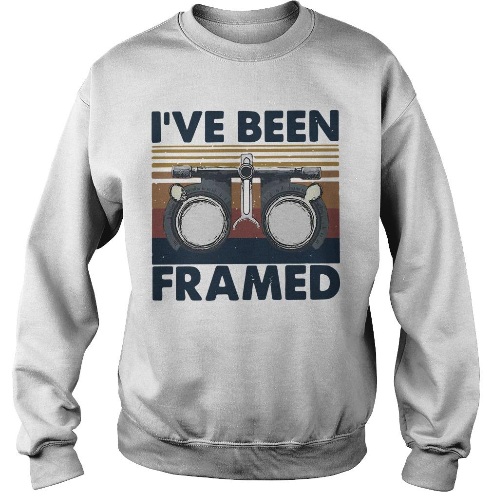 Vintage I've Been Framed Sweater