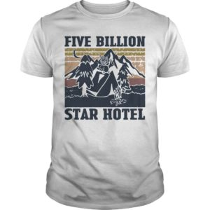 Vintage Owl Mountain Five Billion Star Hotel Shirt