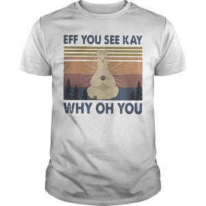 Vintage Sheep Yoga Eff You See Kay Why Oh You Shirt