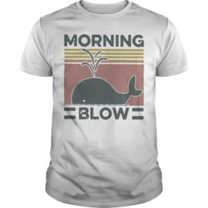 Vintage Whale Morning Blow Shirt