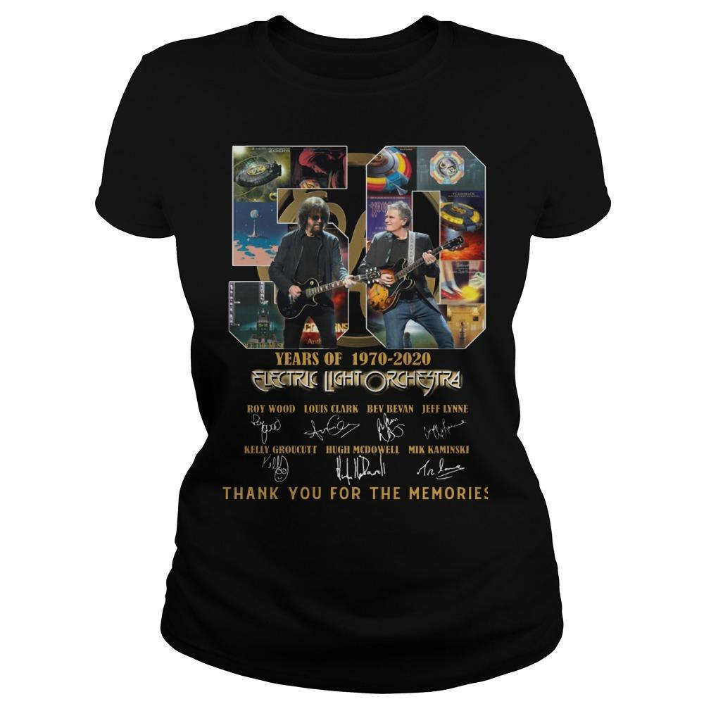 50 Years Of Electric Light Orchestra Thank You For The Memories Longsleeve