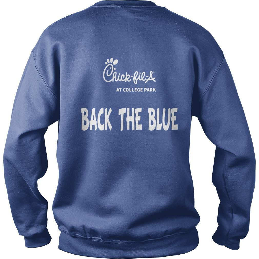 Chick Fil A Back The Blue T Sweater