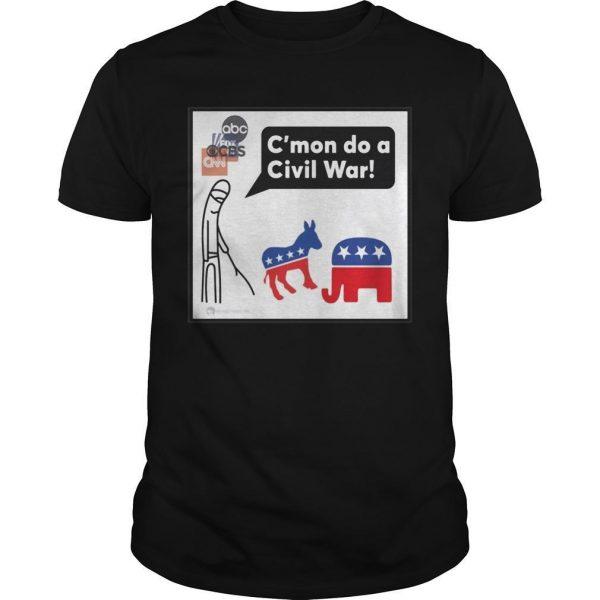 C'mon Do A Civil War Shirt