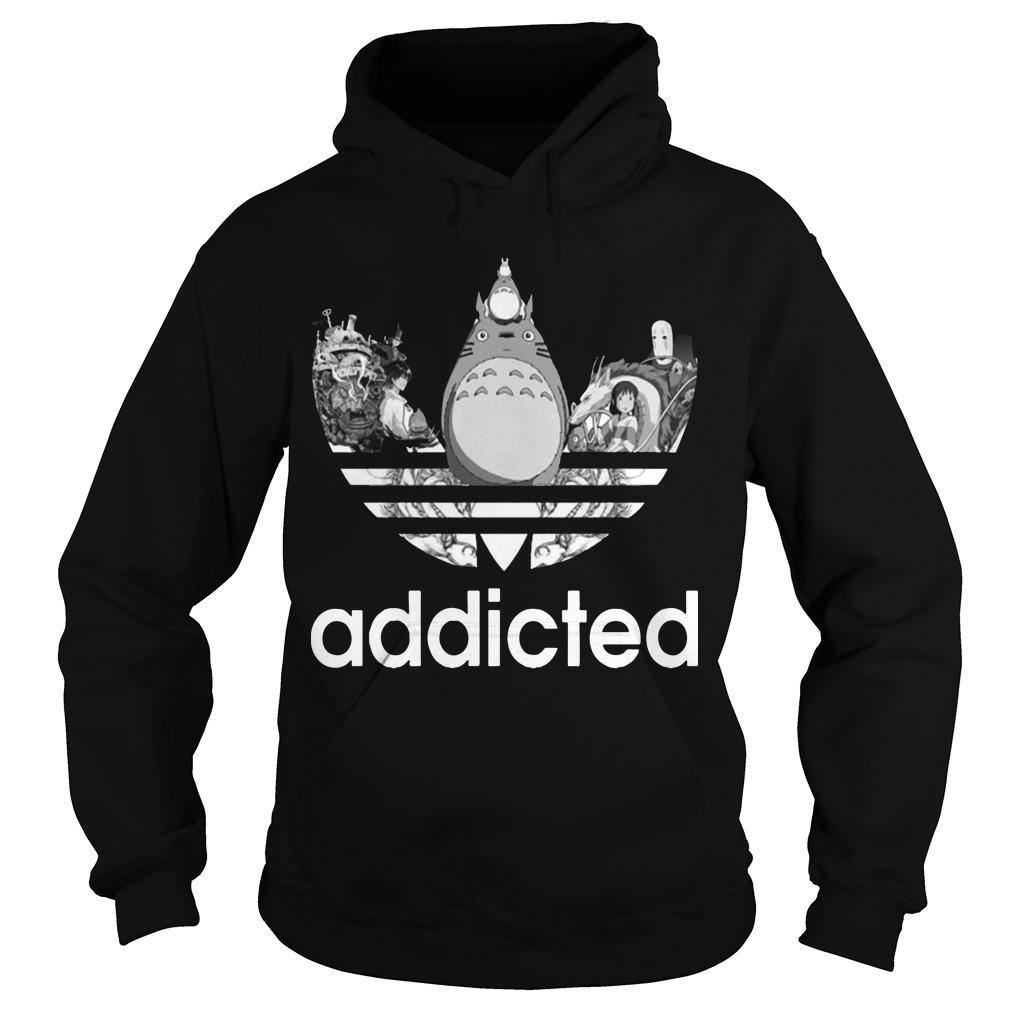 Ghibli Totoro Addicted Hoodie