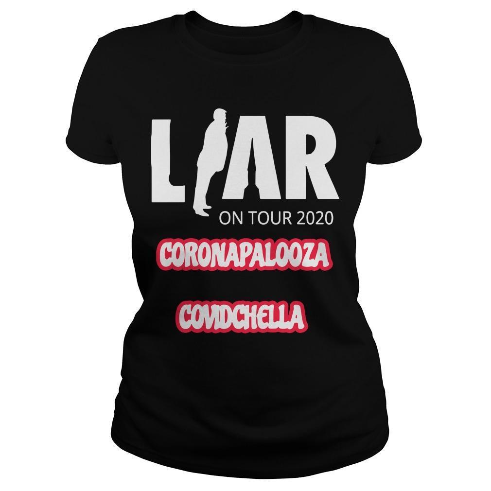 Liar On Tour 2020 Coronapalooza Covidchella Longsleeve