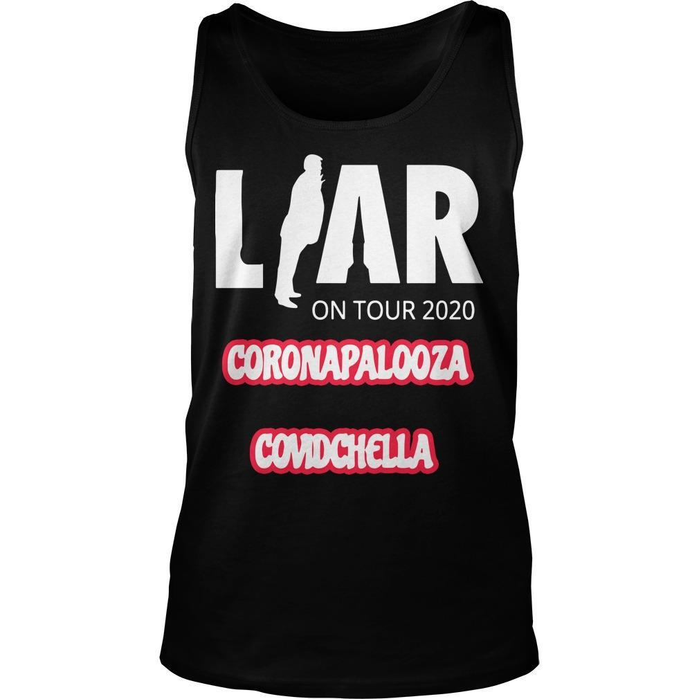 Liar On Tour 2020 Coronapalooza Covidchella Tank Top