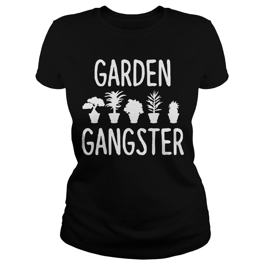 Plant Pots Garden Gangster Longsleeve
