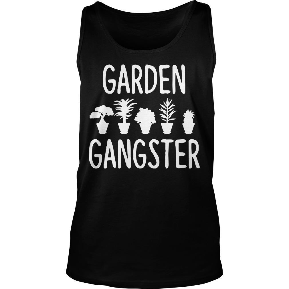 Plant Pots Garden Gangster Tank Top