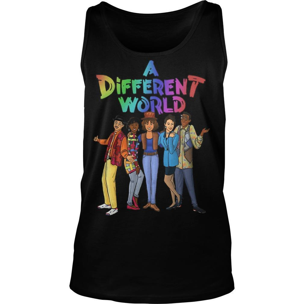 A Different World Tank Top