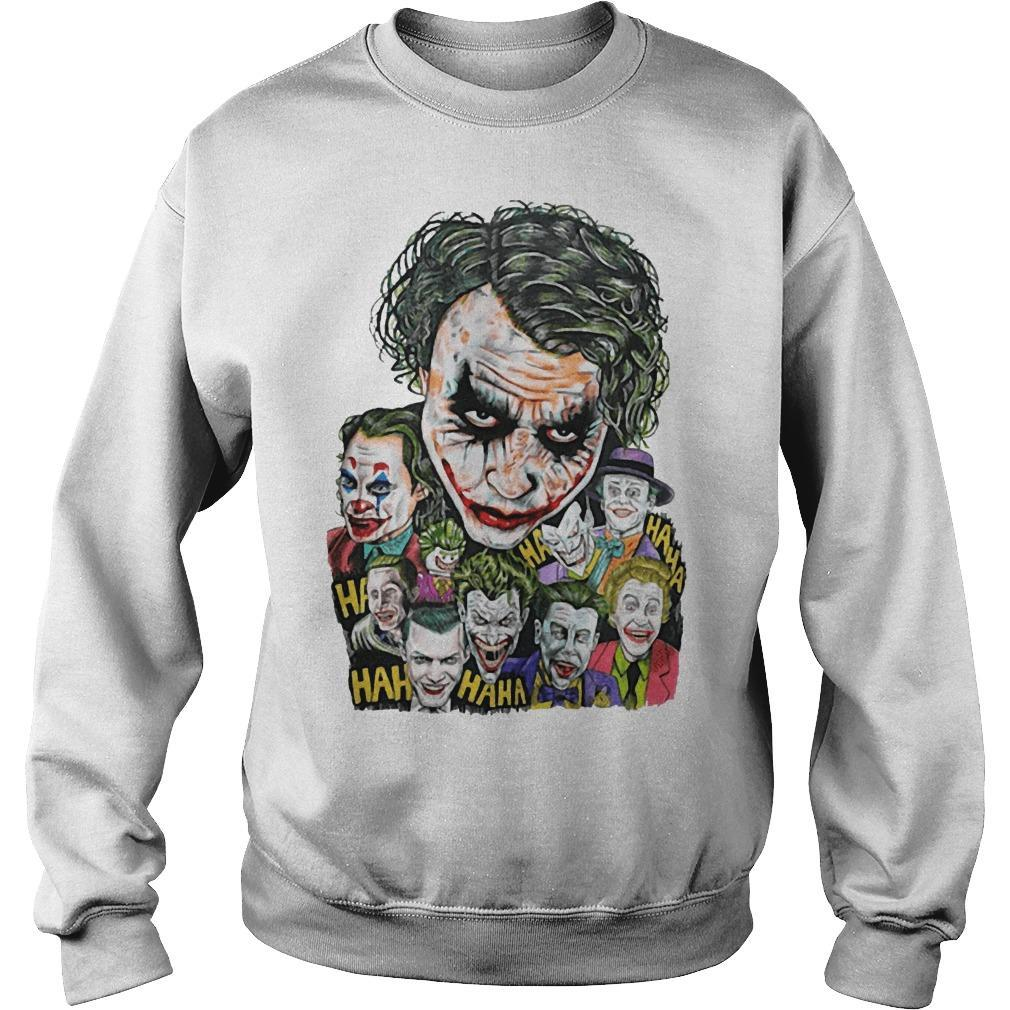 All Jokers Smiling Hahaha Sweater