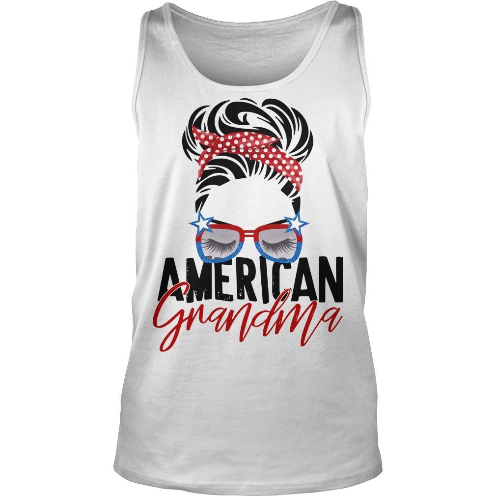 American Grandma Tank Top
