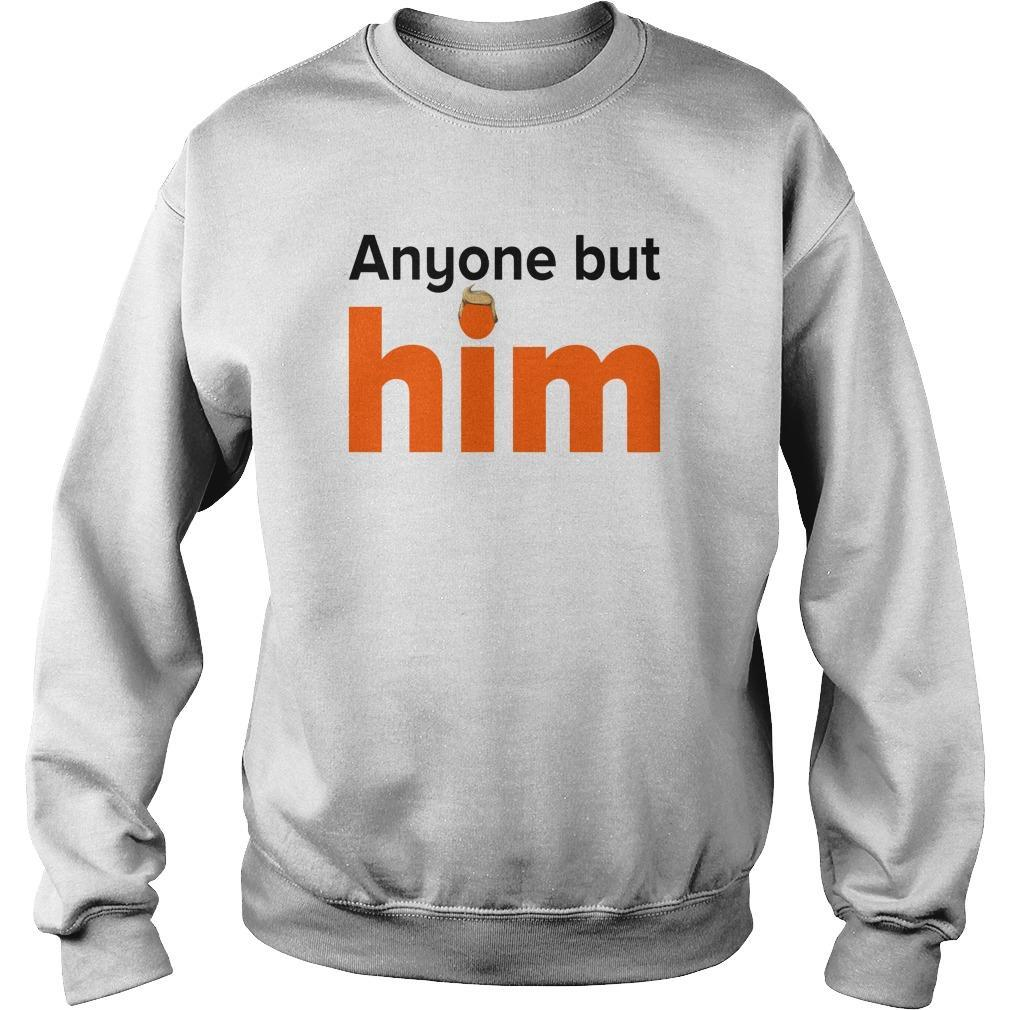 Anyone But Him Sweater