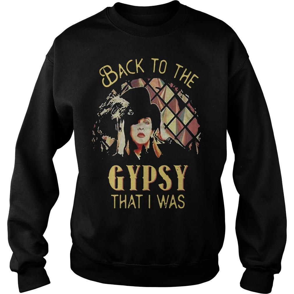 Back To The Gypsy That I Was Sweater
