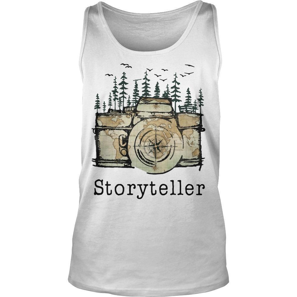 Camera Storyteller Tank Top