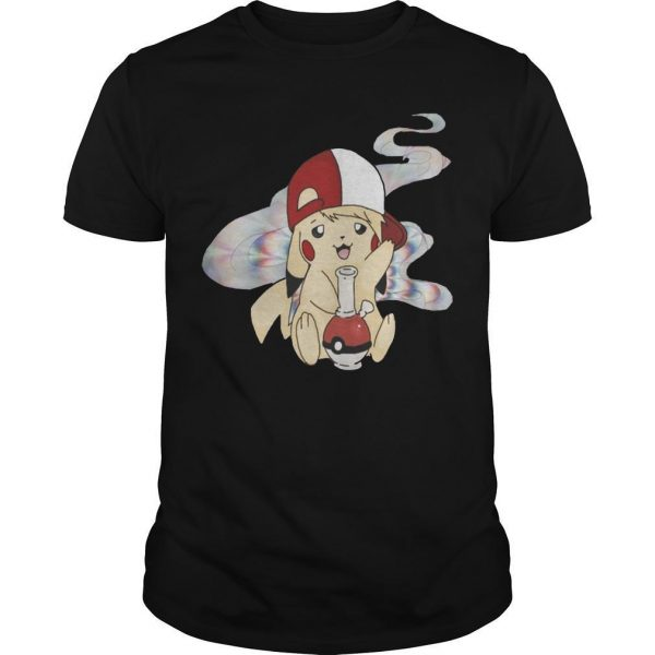 Cannabis Pokemon Pikachu Shirt