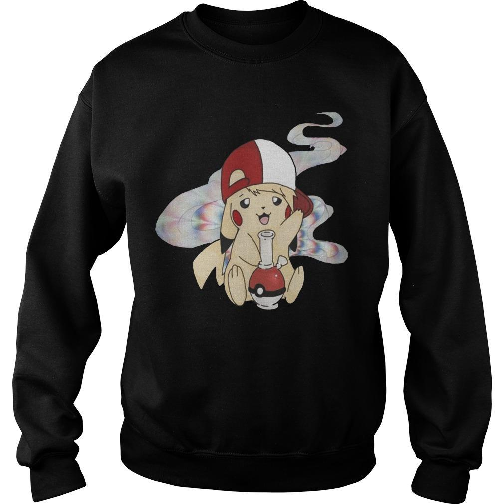 Cannabis Pokemon Pikachu Sweater