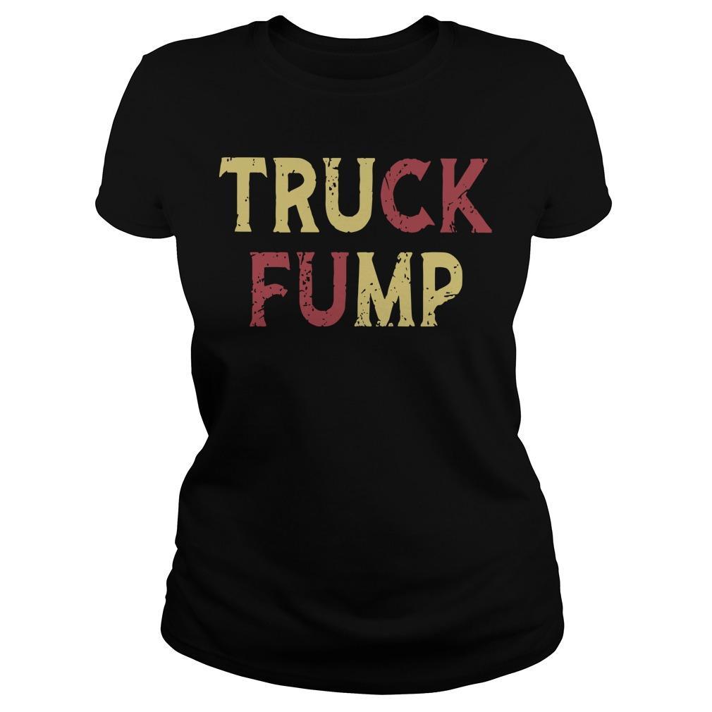 Fuck Trump Truck Fump Longsleeve