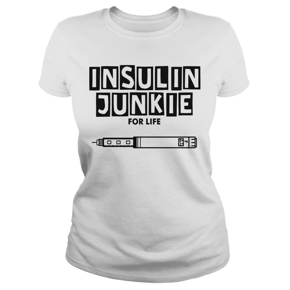 Insulin Junkie For Life Longsleeve