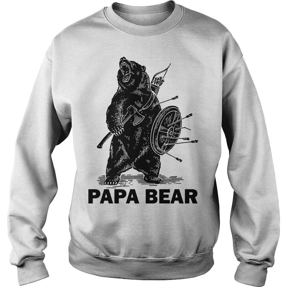 Papa Bear Sweater