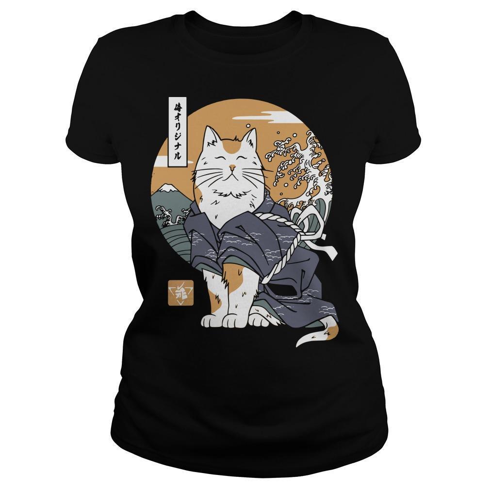 Samurai Cat Longsleeve