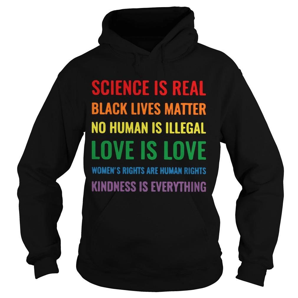 Science Is Real Black Lives Matter Hoodie