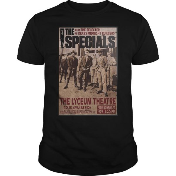 The Specials The Lyceum Theatre Shirt