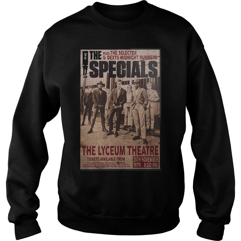 The Specials The Lyceum Theatre Sweater