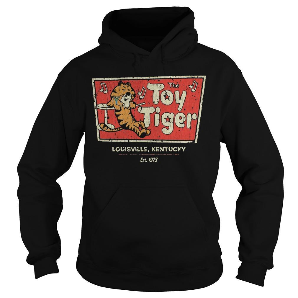 The Toy tiger shirt Hoodie