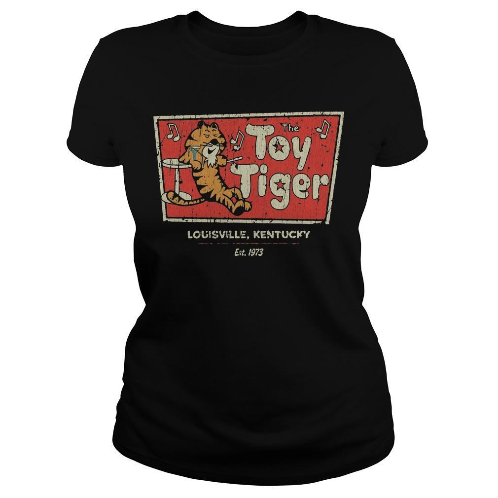 The Toy tiger shirt Longsleeve