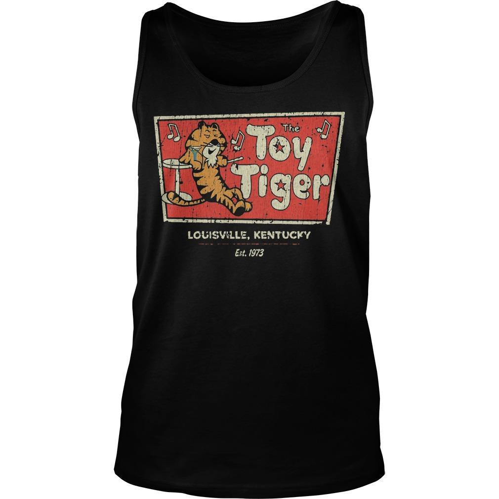 The Toy tiger shirt Tank Top