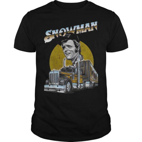Trucker Snowman Shirt