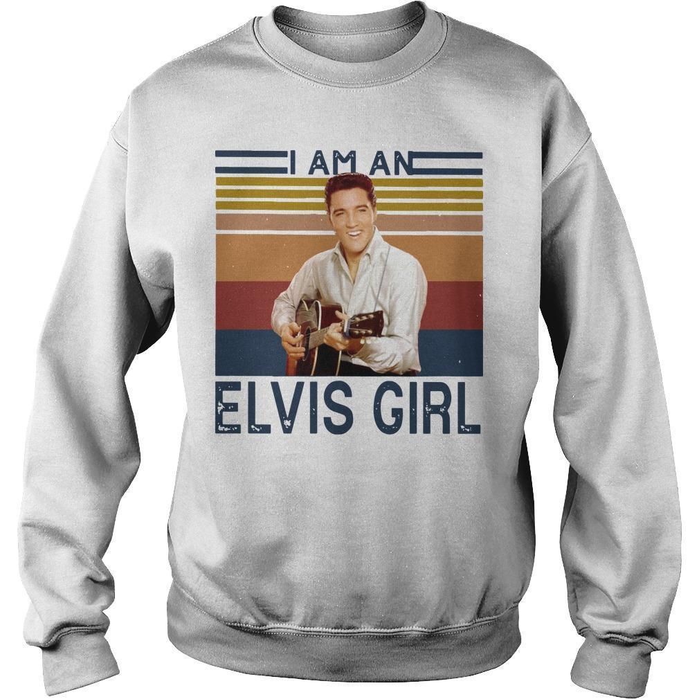 Vintage I Am An Elvis Girl Sweater