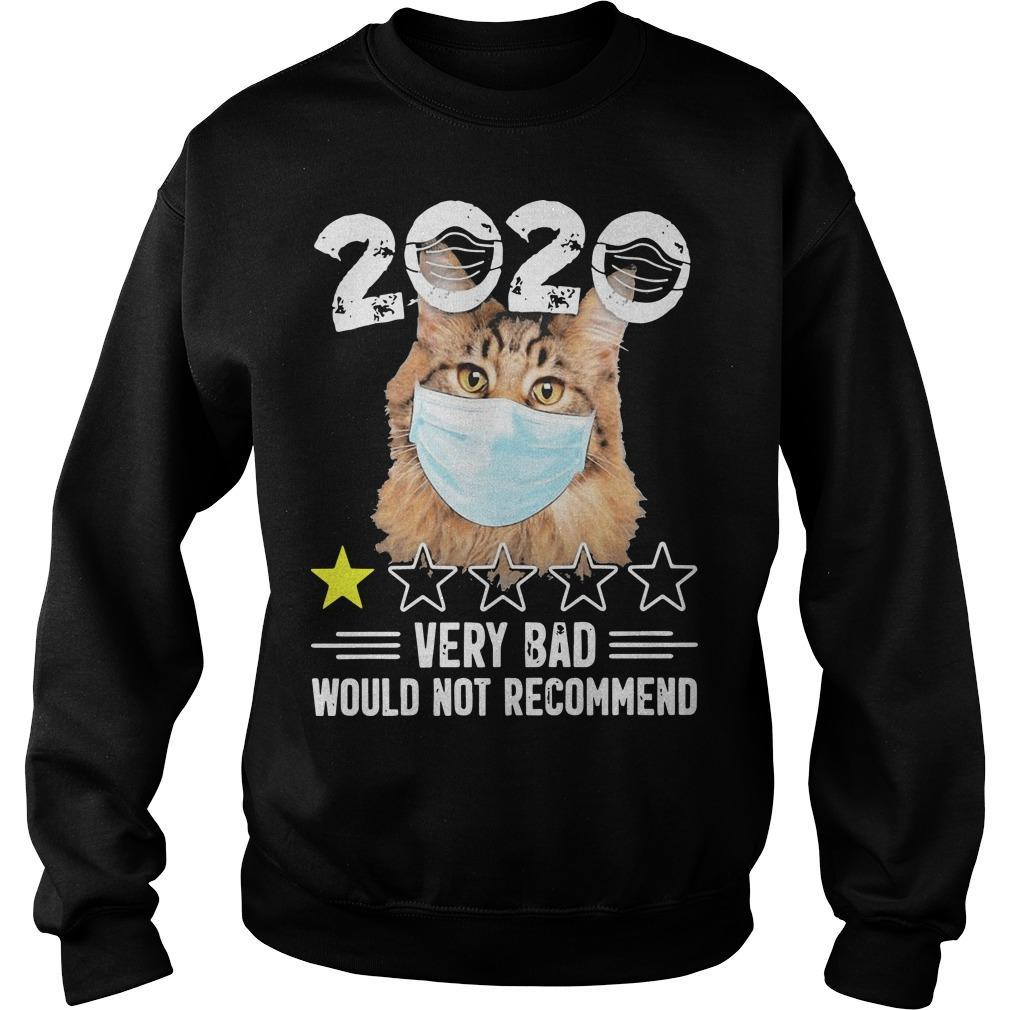 Cat Face Mask 2020 Very Bad Would Not Recommend Sweater