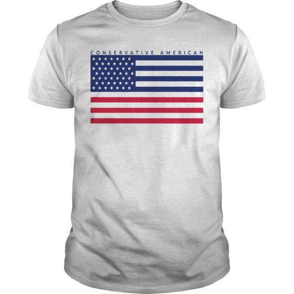 Conservative American Flag Shirt