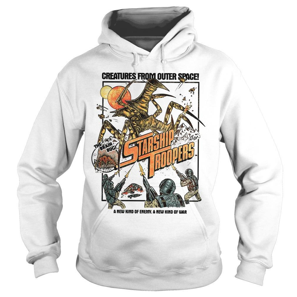 Creatures From Outer Space Starship Troopers Hoodie
