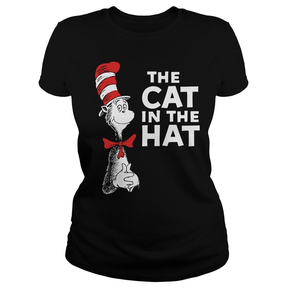 Dr Seuss The Cat In The Hat Longsleeve