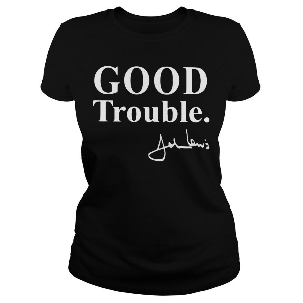 Good Trouble Signature John Lewis Longsleeve