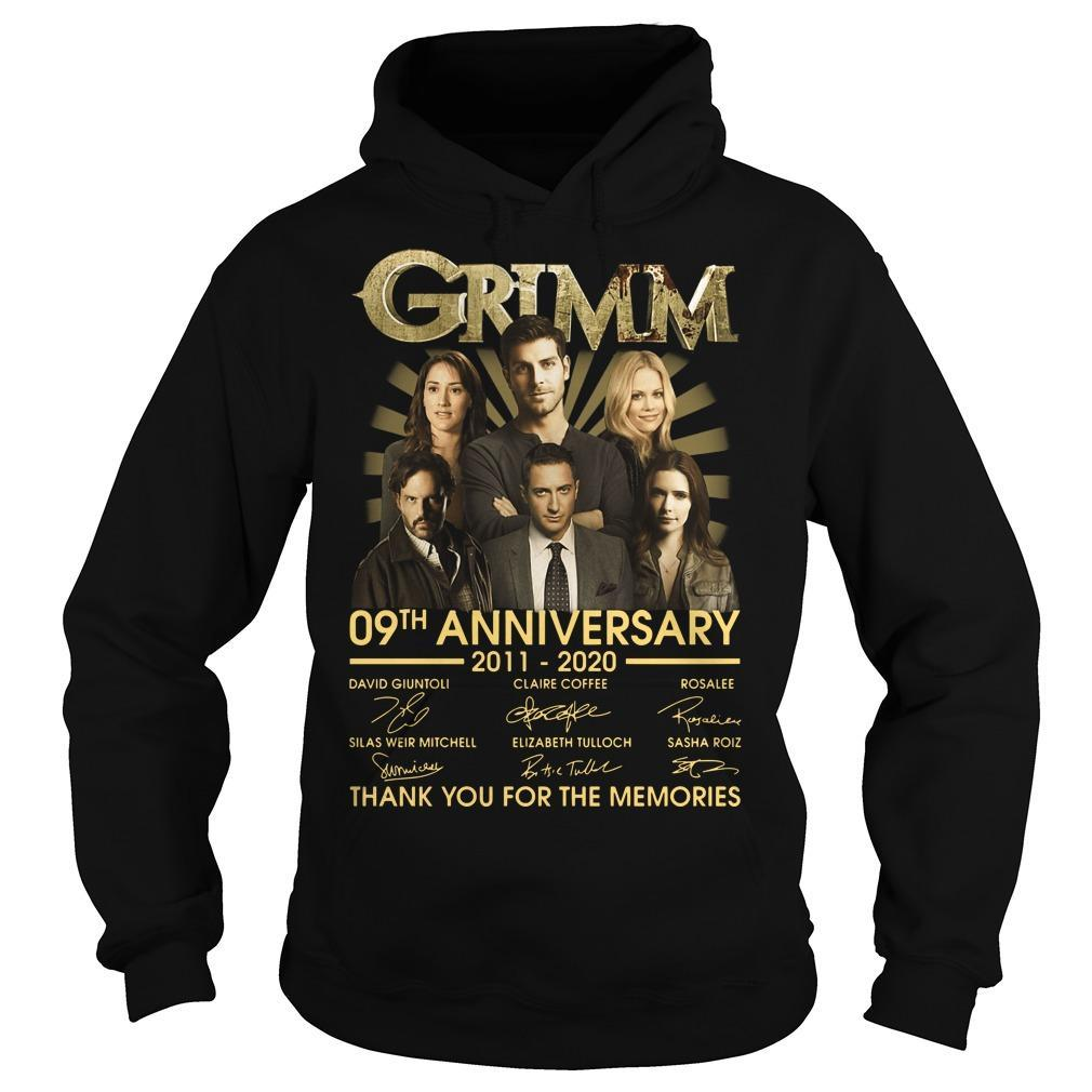 Grimm 09th Anniversary Thank You For The Memories Hoodie