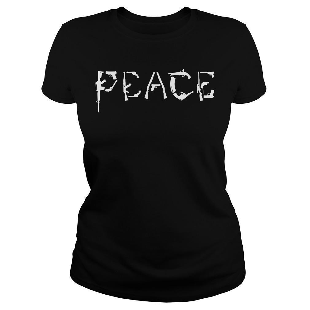Gun Peace Longsleeve