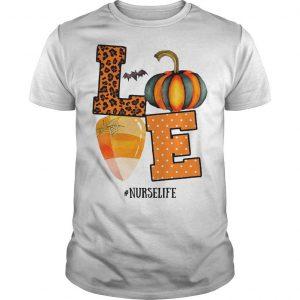 Halloween Pumpkin Love #nurselife Shirt