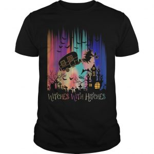Halloween Witches With Hitches Shirt
